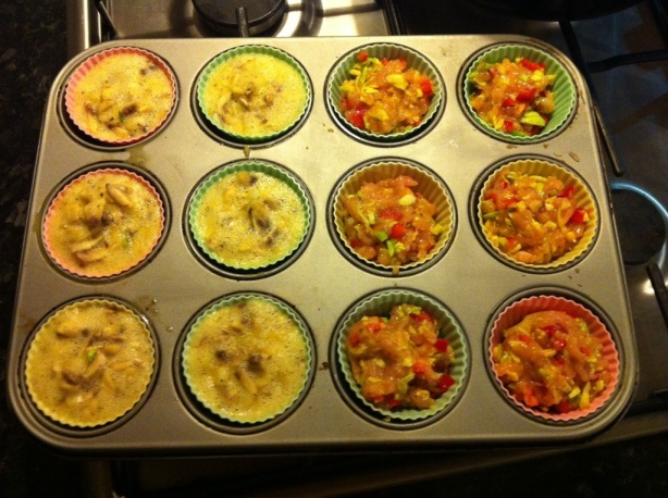 Egg & Turkey Breakfast Muffins
