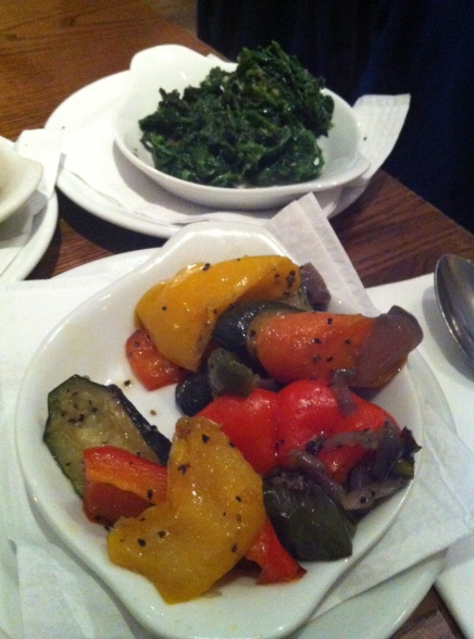 Vegetables & Spinach Sides
