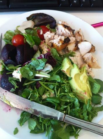 Paleo Lunch Part 2: Chicken Salad