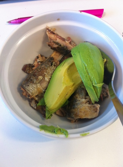 Tinned Mackerel & Avocado
