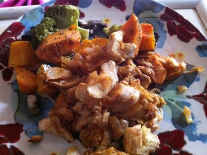 Paleo Lunch Paprika Cod & Veg