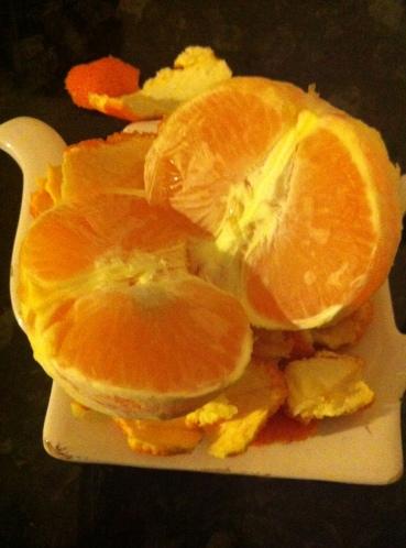 Paleo Snack: Tangerine